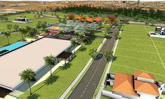 Urban Design, Baseball Field, Basketball Court, Building Companies