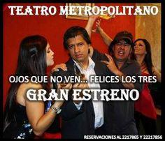 OJOS QUE NO VEN.... FELICES LOS TRES http://www.desktopcostarica.com/eventos/2014/ojos-que-no-ven-felices-los-tres #CostaRica