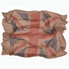 Directional Vintage-Inspired Union Jack Scarf - Made by Italca of Italy £45