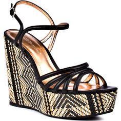 Hosanna - Black Silk Tribal by BCBGeneration High Heel Boots, Heeled Boots, Shoe Boots, Tribal Trends, Devil Wears Prada, Tribal Fashion, Peep Toe Pumps, Bcbgeneration, Black Silk