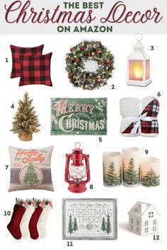 Amazon Christmas Decorations, Amazon Christmas Gifts, Toddler Christmas Gifts, Christmas Lanterns, Christmas Post, Homemade Christmas Gifts, All Things Christmas, Christmas Wreaths, Holiday Decor