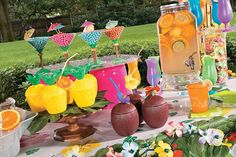 Get your party started with luau party supplies inspired by island fun! Find the perfect tropical decorations, drinkware and luau party supplies for your summer party. #luau #decorations