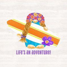 Framed Gnomes of Summer sentiment IV-Adventure Print