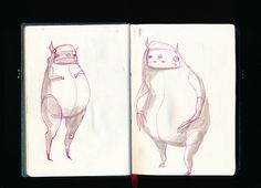 Sketchbooks on Behance