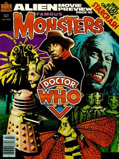 Famous Monsters and Aliens of Doctor Who
