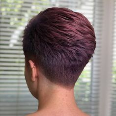 Classic Cut ✂ And Color Styled By Greens Blackhairstyles - Hair Beauty - Marecipe Short Hair Back, Super Short Hair, Short Grey Hair, Short Hair With Layers, Short Hair Cuts For Women, Short Pixie Haircuts, Cute Hairstyles For Short Hair, Pixie Hairstyles, Curly Hair Styles