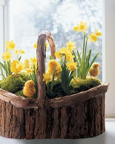 20 Cute Rustic Centerpieces For Easter