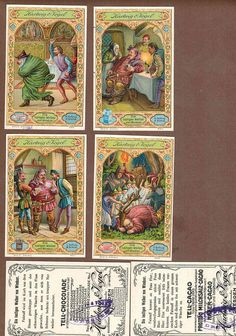 Vintage Victorian Trade Windsor's wives issued 1900's