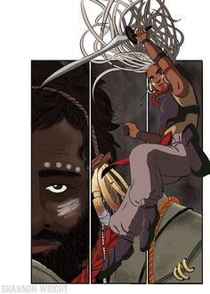 32 Brilliant Illustrations Of Badass Lady Knights
