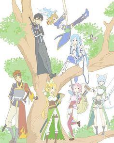 . [ Sword Art Online ll ] - New Images of Sword Art Online - Pic by: @_animechannel_ -