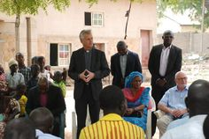 LWF's Gen. Sec. Rev. Dr Martin Junge paying a solidarity visit to the member churches of Nigeria. #Day335 til the LWF Twelfth Assembly.  #Assembly365 #communionlife #Lutheran #Church #People #faith #Lutheran