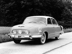 Tatra 603-1, 1958