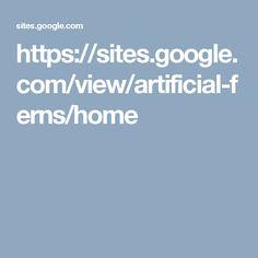 https://sites.google.com/view/artificial-ferns/home