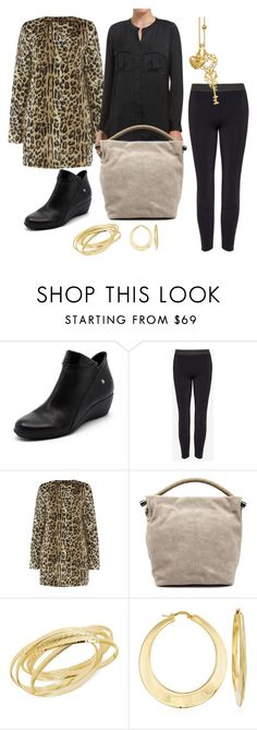 """""""Winter Wild Cat"""" by barbara-ward-1 on Polyvore featuring Zensu, Hint of Gold, Ross-Simons and Blossom Copenhagen"""