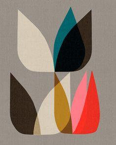 Inaluxe (Kristina Sostarko + Jason Odd), Blossom 3 print.