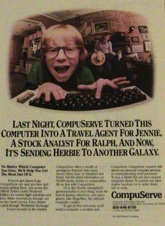 vintage computer ads | Steve Jobs Obituary: Vintage and Funny Computer Ads