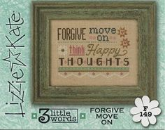 Lizzie Kate Flip-It Series - 3 Little Words - Forgive Move On – Stoney Creek Online Store