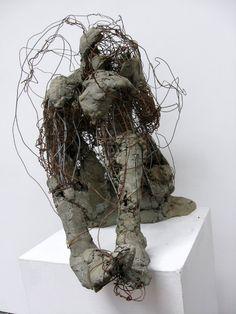 Wire Sculprtures by Bob Jones at Plaster Sculpture, Concrete Sculpture, Sculpture Clay, Abstract Sculpture, Wire Sculptures, Bronze Sculpture, Mixed Media Sculpture, Contemporary Sculpture, Wire Art