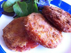 Fried Crumbed Tomatoes - Brisbane Kids