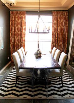 Before and after: Sarah's dining room - Design Sponge