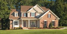 New American House Plan with 2723 Square Feet and 4 Bedrooms from Dream Home Source | House Plan Code DHSW32166