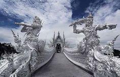 Templo Branco, Tailândia www.calcathai.com
