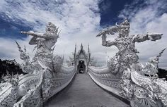 Thailand's White Temple.