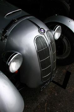 BMW 328 Sports Car - built 1936 til 1930 designed by Peter Szymanowski, later chief designer by BMW. This was at a time, when there were very few sports cars driven, so this was the hottest car around. It served absolutely no purpose but pleasure!