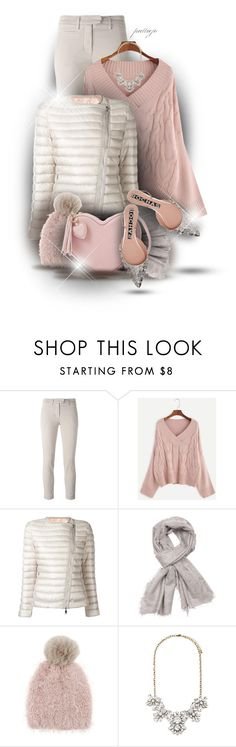 """""""Another Puffer"""" by rockreborn on Polyvore featuring Dondup, Moncler, Capelli New York, Forever 21 and Rochas"""