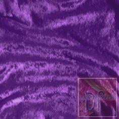 Purple Velour www.distinctivefabric.com
