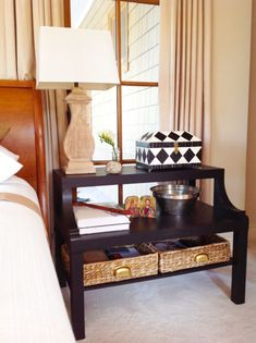 Ikea Lack Hack – From Coffee Table To The Perfect Bedside Table | Once Again, My Dear Irene