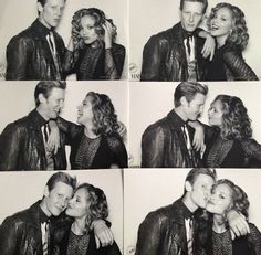 Gabriel Mann and Margarita Levieva from Revenge reunited at MB fashion week this fall. Love them!
