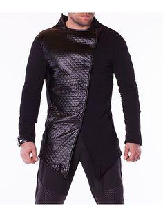 Trening extravagant pentru barbati CRAZY ISLAND Leather Jacket, Athletic, Interior Design, Jackets, Island, Fashion, Studded Leather Jacket, Nest Design, Down Jackets