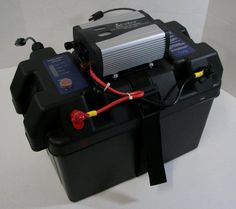 RV Solar Power Generator - Solar Inverter Battery Box & Charge Controller