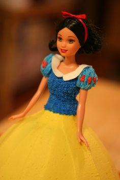 Princess birthday cake Snow White