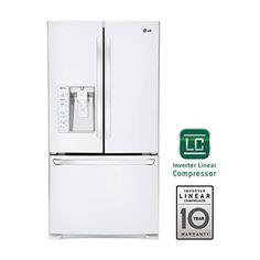 29 cu.ft. Ultra-Capacity 3 Door French Door Refrigerator w/ Dual Ice Makers