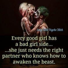 the joker and harley quinn love quotes Bitch Quotes, Joker Quotes, Badass Quotes, Girl Quotes, Woman Quotes, New Quotes, True Quotes, Quotes For Him, Inspirational Quotes