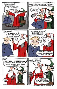 Dumbledore is Dumbledone: Dumbledore, Newt, and the Niffler