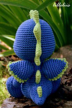 Little dragon – amigurumi crochet