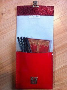 Slimline leather pencil case £16.49