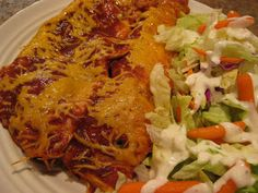 Time For Supper!: Beef Enchiladas