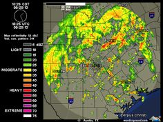 Nice rain in central Texas 2013-09-20  Austin-San Antonio Radar | Weather Underground