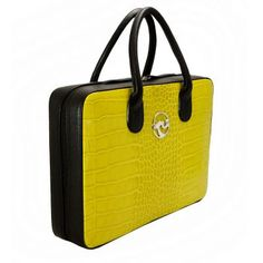 Venezia Professional Woman Leather Handbag, for women that are not afraid of bright colours and want to bring a bit of happyness into their workplace