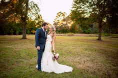 The gorgeous #olascouple. ::Kelley + Kyle's romantic fall wedding at the Vinewood Estates in Newnan, Georgia:: @Vinewood Plantation @Belinda Chan Fiore Bridal #weddingphotography