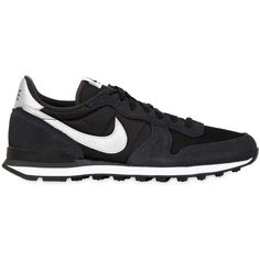 NIKE Internationalist Suede Sneakers - Grey (€75) ❤ liked on Polyvore