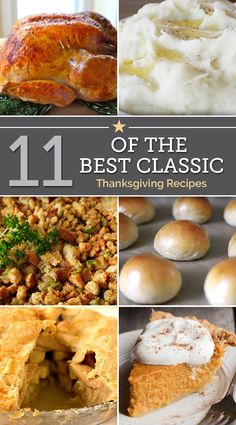 11 of the Best Classic Thanksgiving Recipes | thegoodstuff