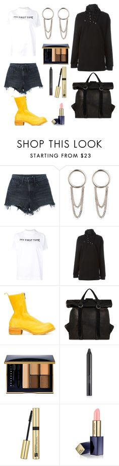 """""""airport with alyx"""" by esposito-alicya on Polyvore featuring Alexander Wang, Maison Margiela, Alyx, Guidi, Estée Lauder, GetTheLook and airportstyle"""