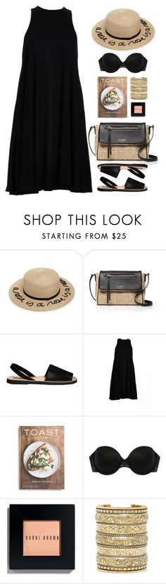 """Kate Spade look"" by imperiouspuma on Polyvore featuring Eugenia Kim, Kate Spade, Park Lane, Babakul, PHAIDON, Addiction, Bobbi Brown Cosmetics and Natalie B"