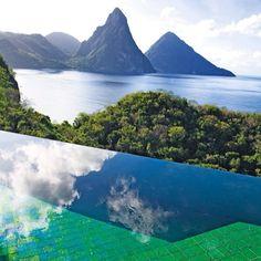 #smithday #smithstagram from Jade Mountain resort in St Lucia