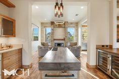 Dream Homes Rustic Design, Modern Design, Barn Siding, Reclaimed Barn Wood, Wide Plank, Resort Style, Rustic Feel, Kitchen Flooring, Home Decor Inspiration